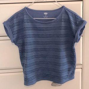 Short-Sleeved, Loose Shirt